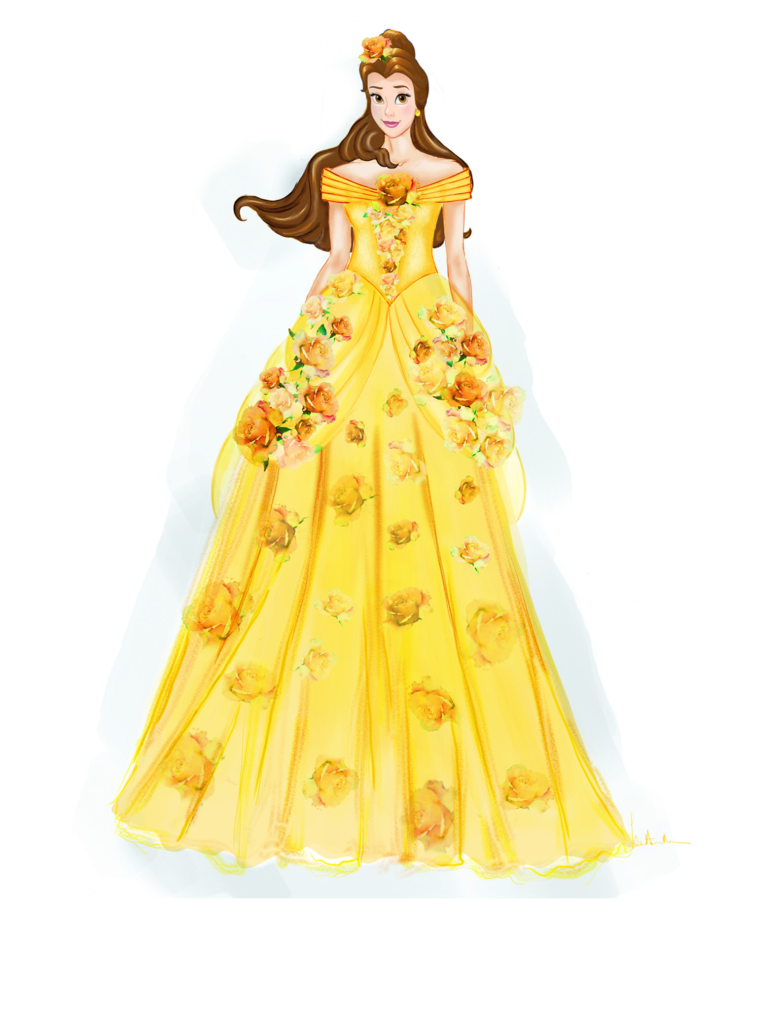 Belle's dress for the Pirates and Princess festival