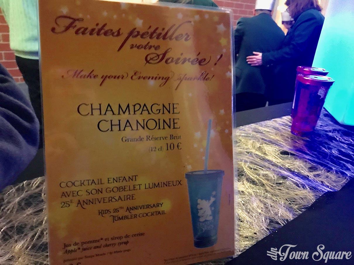 Champagne Station at Disneyland Paris
