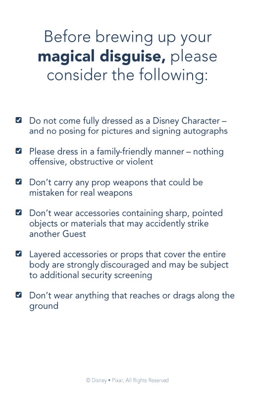 Disneyland Paris FanDaze Costume Guide