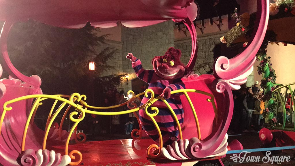 The Incredible New Year's Eve Parade, Cheshire Cat - Disneyland Paris