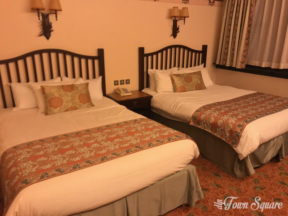 A Standard Room at Disney's Sequoia Lodge