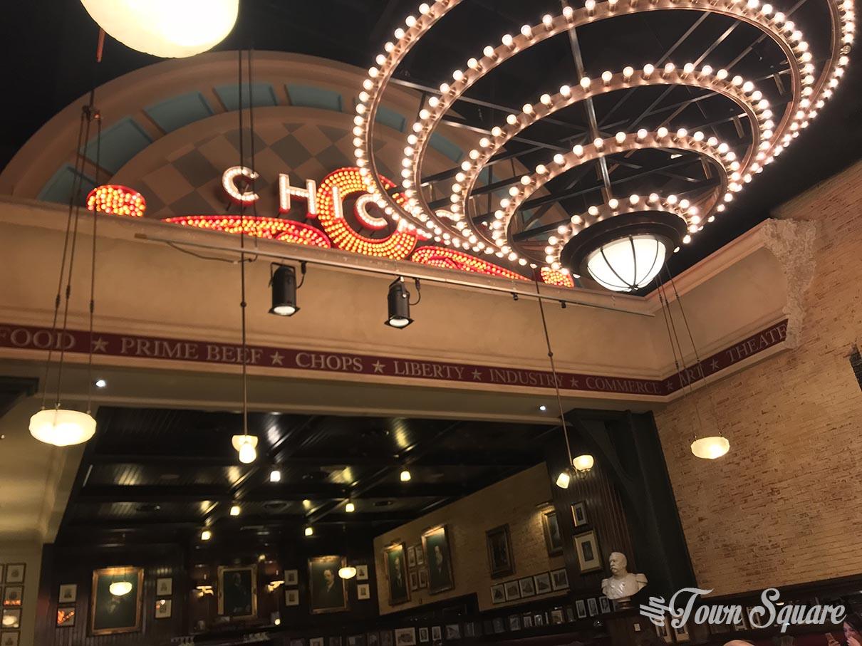 The Steakhouse in Disney Village - Chandelier
