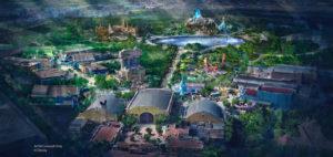 Walt Disney Studios Park - Redevelopment concept art