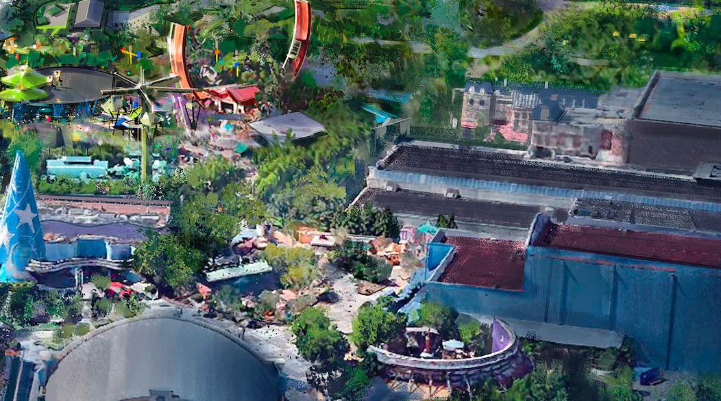 Walt Disney Studios Redevelopment - Toon Studio
