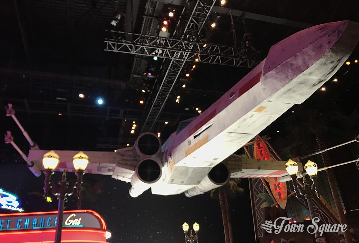 X-Wing in Disneyland Paris for Season of the Force