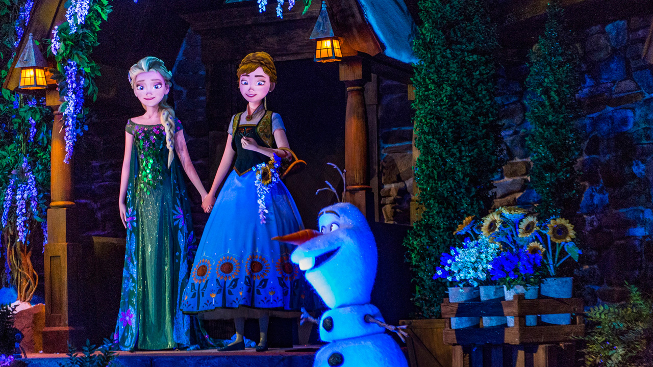Frozen Ever After at Walt Disney World