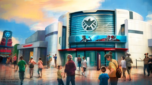 Marvel Land in Hong Kong Disneyland