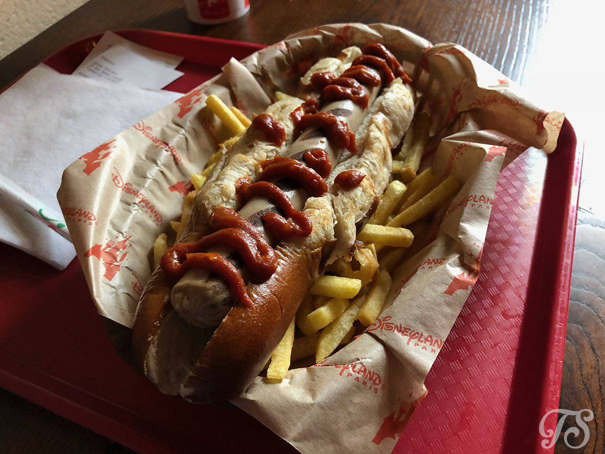 Bavarian Hotdog at Au Chalet de la Marionette