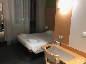 Hotel room at the Hotel B&B at Disneyland Paris
