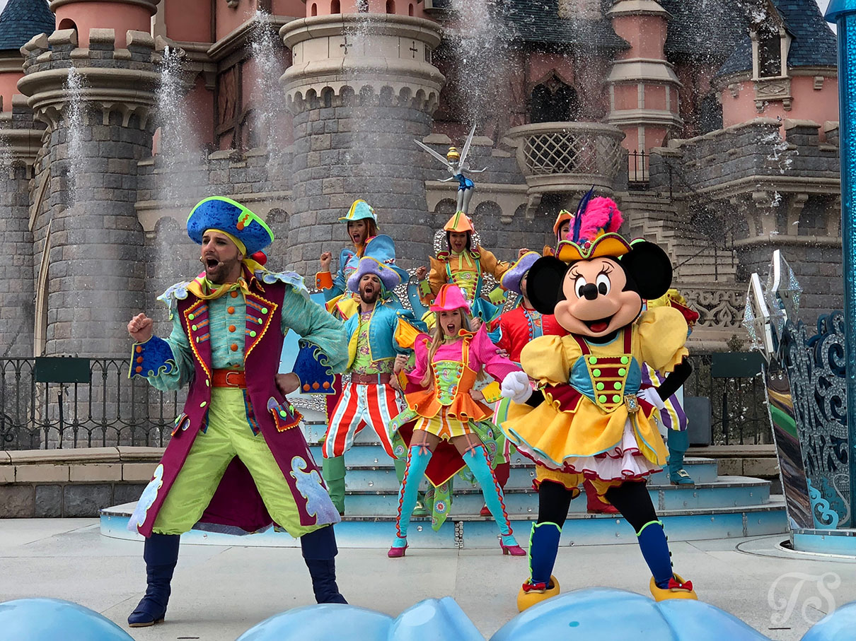 Team Pirates during the Festival of Pirates and Princesses at Disneyland Paris