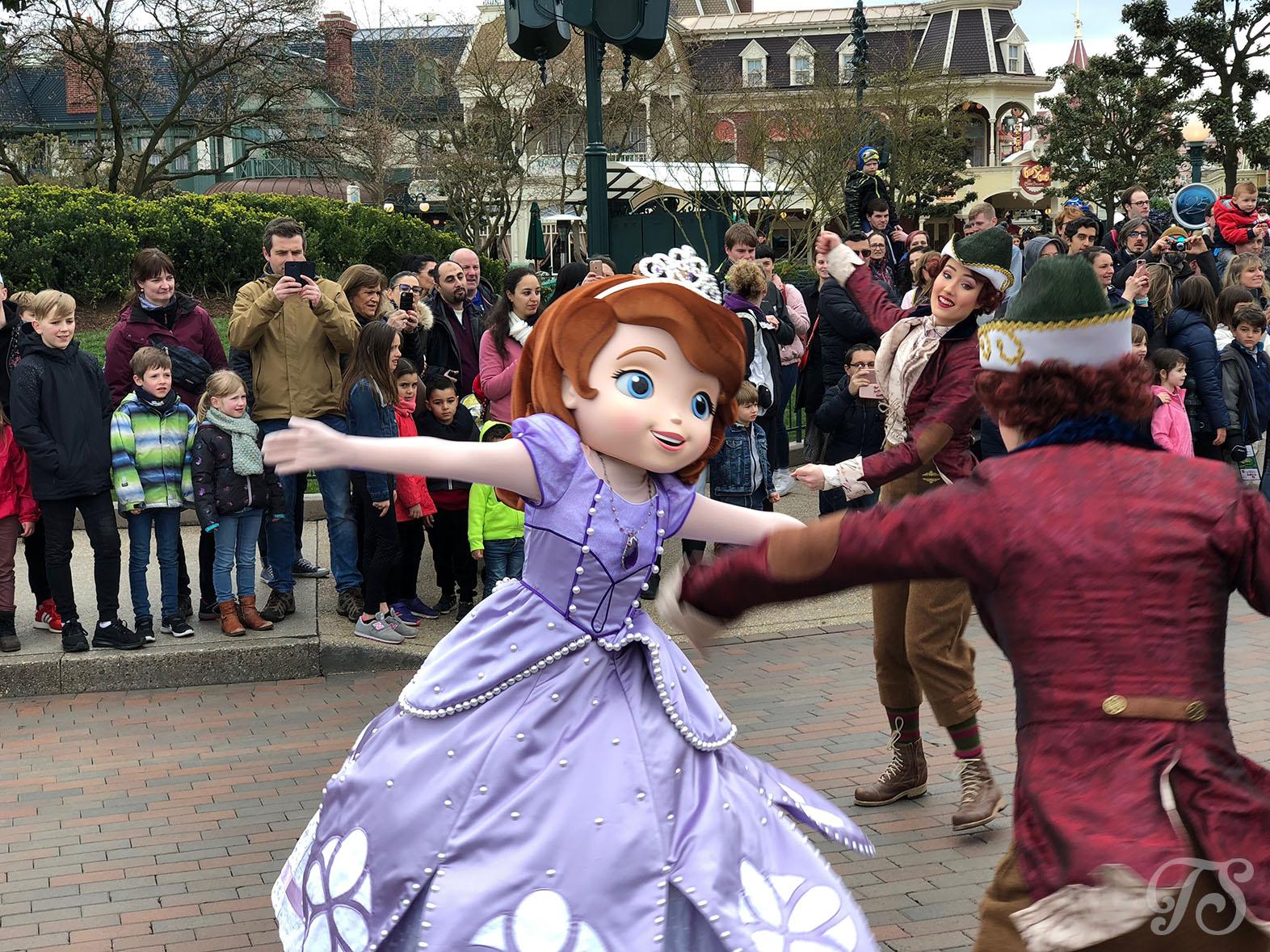 The Princess Promenade during the Festival of Pirates and Princesses at Disneyland Paris