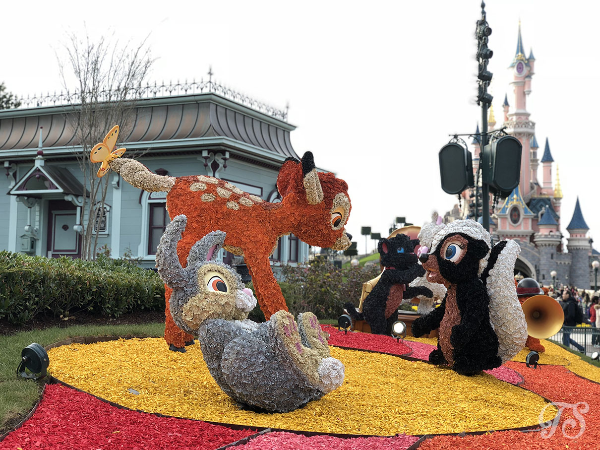Festival of Pirates and Princesses Bambi Topiary Decoration