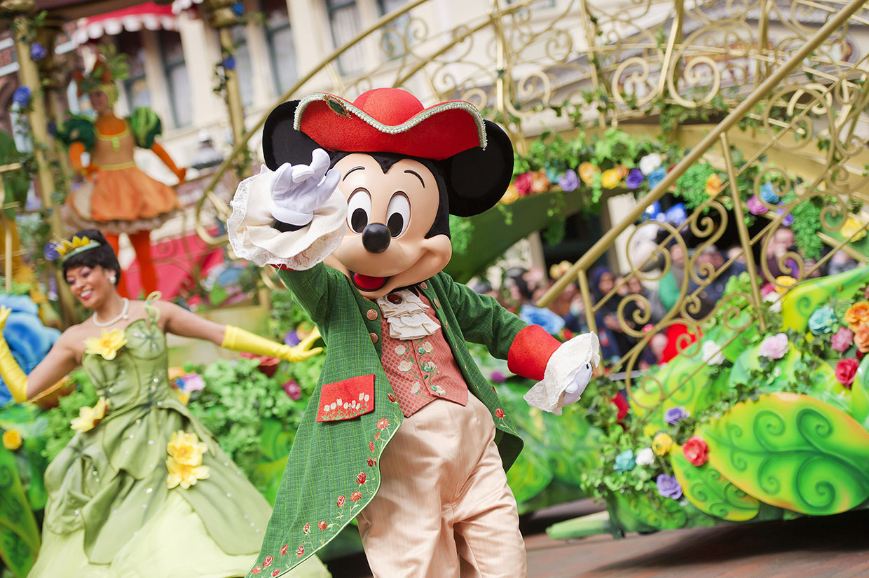 Prince Mickey during the Pirates and Princesses festival at Disneyland Paris