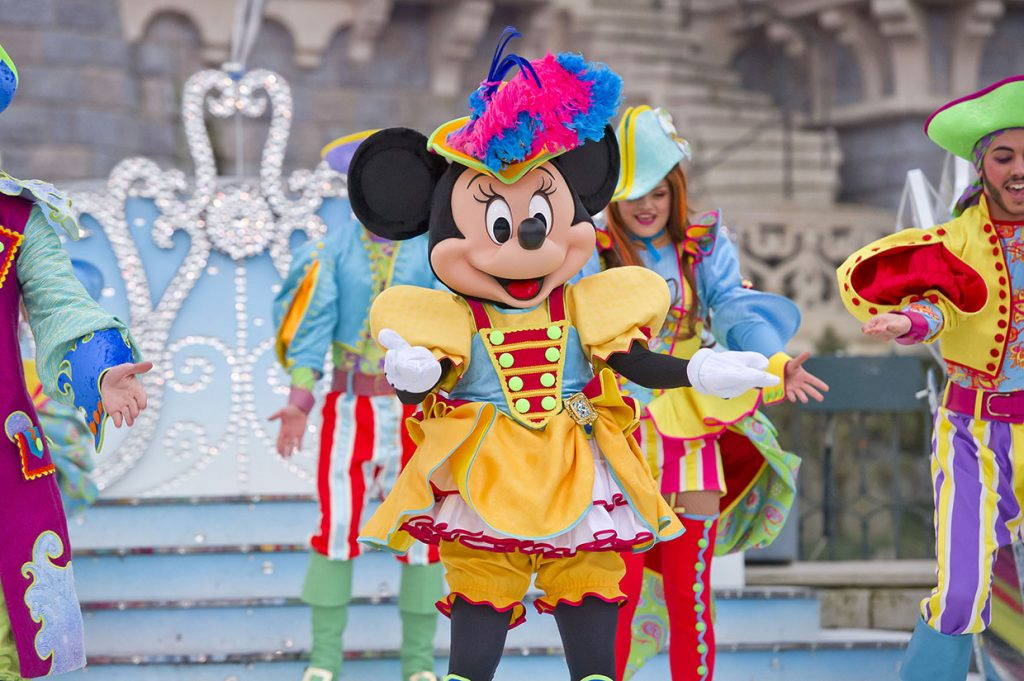 Pirate Minnie at the Festival of Pirates and Princesses at Disneyland Paris