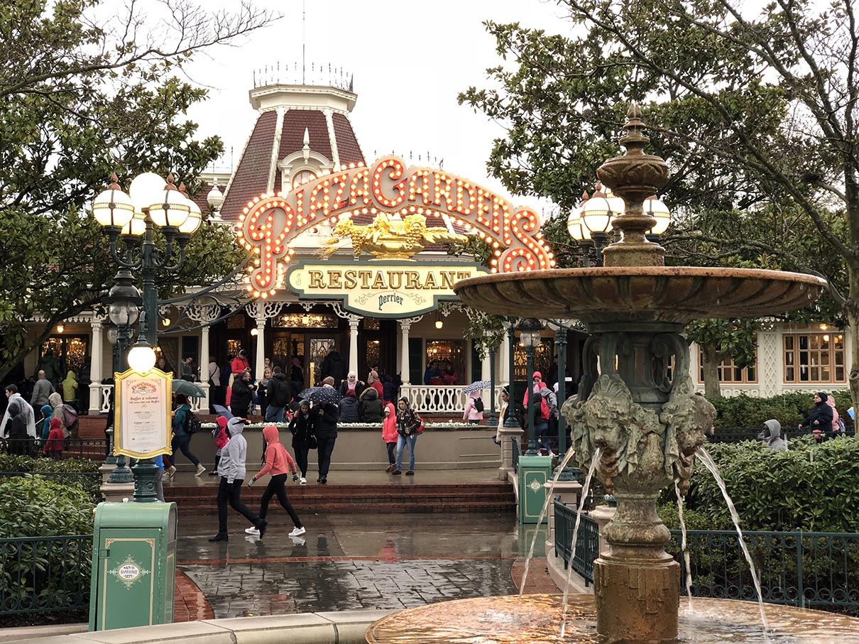 Plaza Gardens at Disneyland Paris