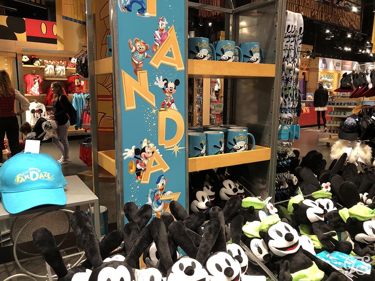 Disney FanDaze Merchandise