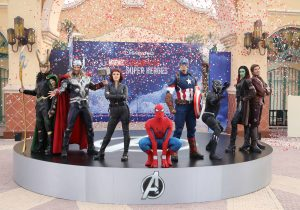 Marvel Summer of Super Heroes opening at Disneyland Paris