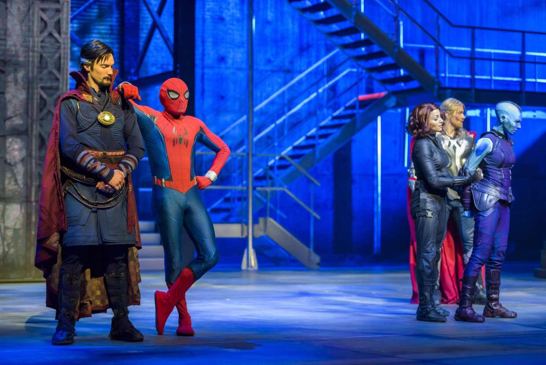 Super Heroes United at Disneyland Paris's Marvel Summer of Super Heroes