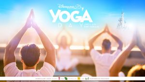 World Yoga Day at Disneyland Paris