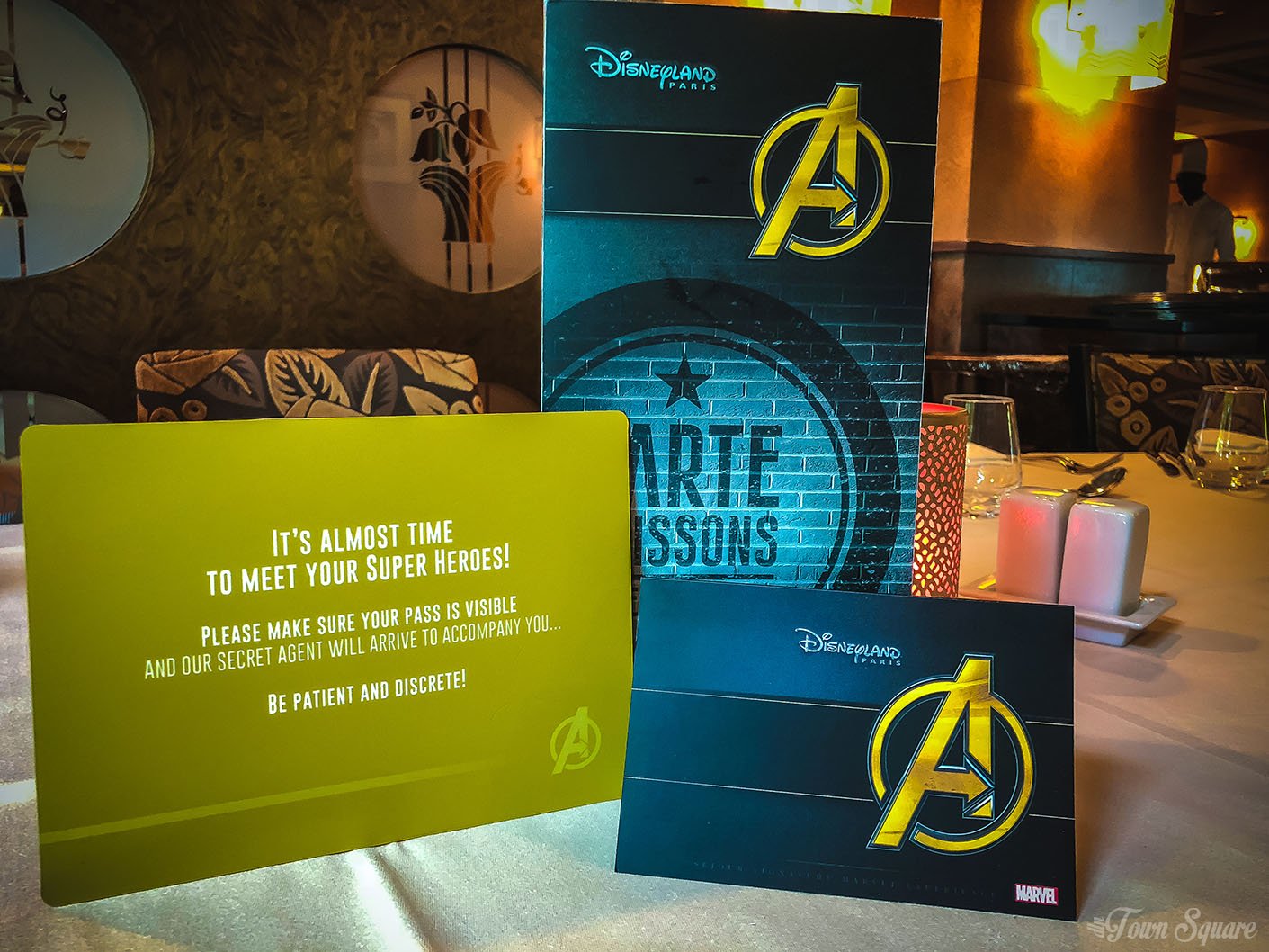 Marvel Signature Meal at Disneyland Paris