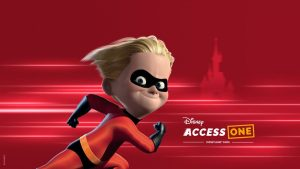Disney Access One visual with Dash