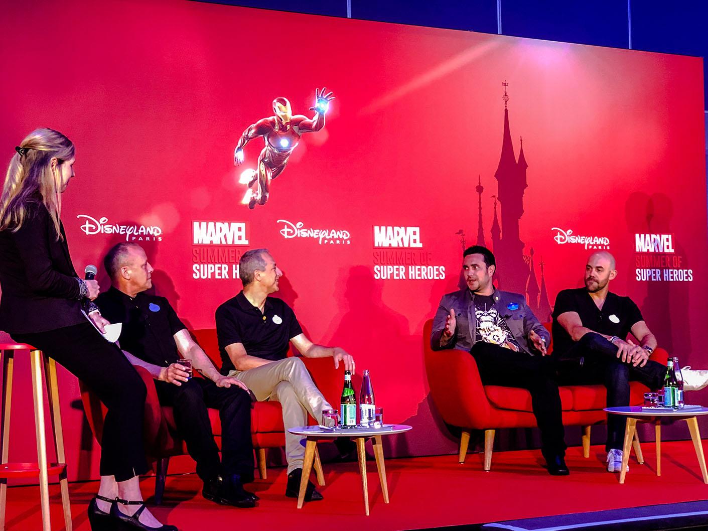 Marvel Summer of Super Heroes Press Conference at Disneyland Paris