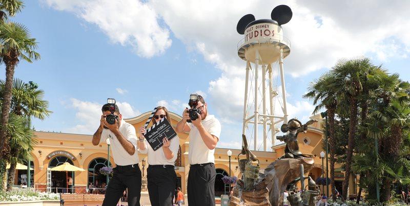Disney PhotoPass+ photographers in the Walt Disney Studios park