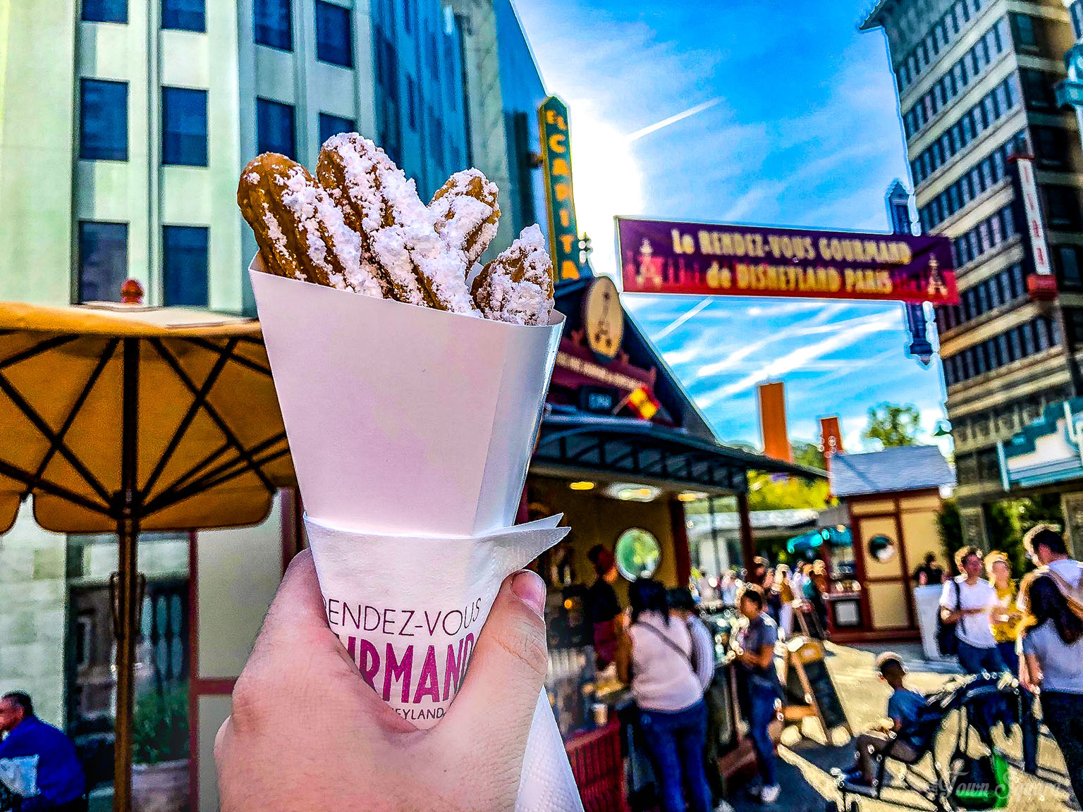 Churros at the Rendez-Vous Gourmand 2018 in Disneyland Paris