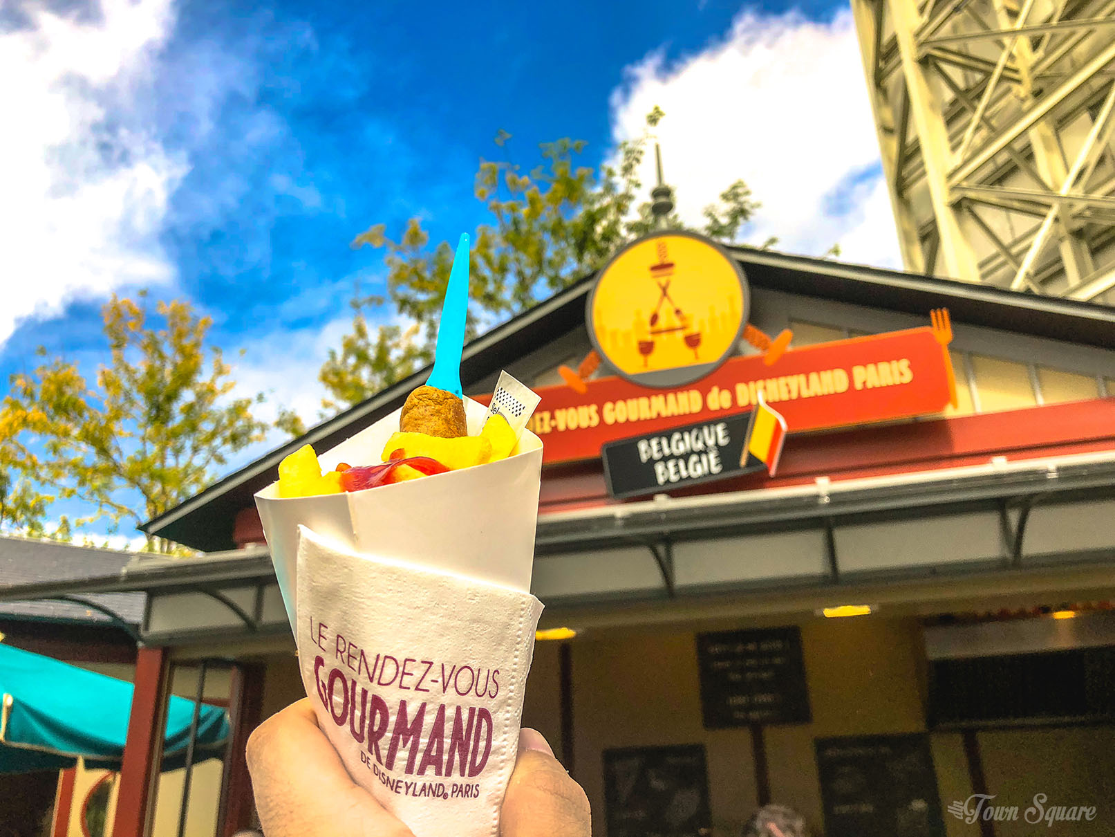 Fricadelle at the Rendez-Vous Gourmand 2018 in Disneyland Paris