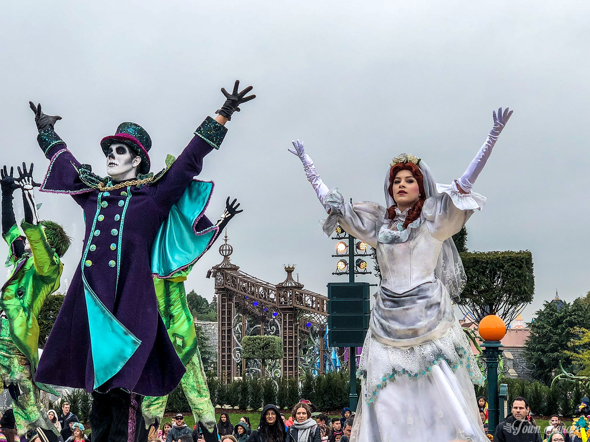 Mickey's Halloween Celebration during the Halloween season at Disneyland Paris