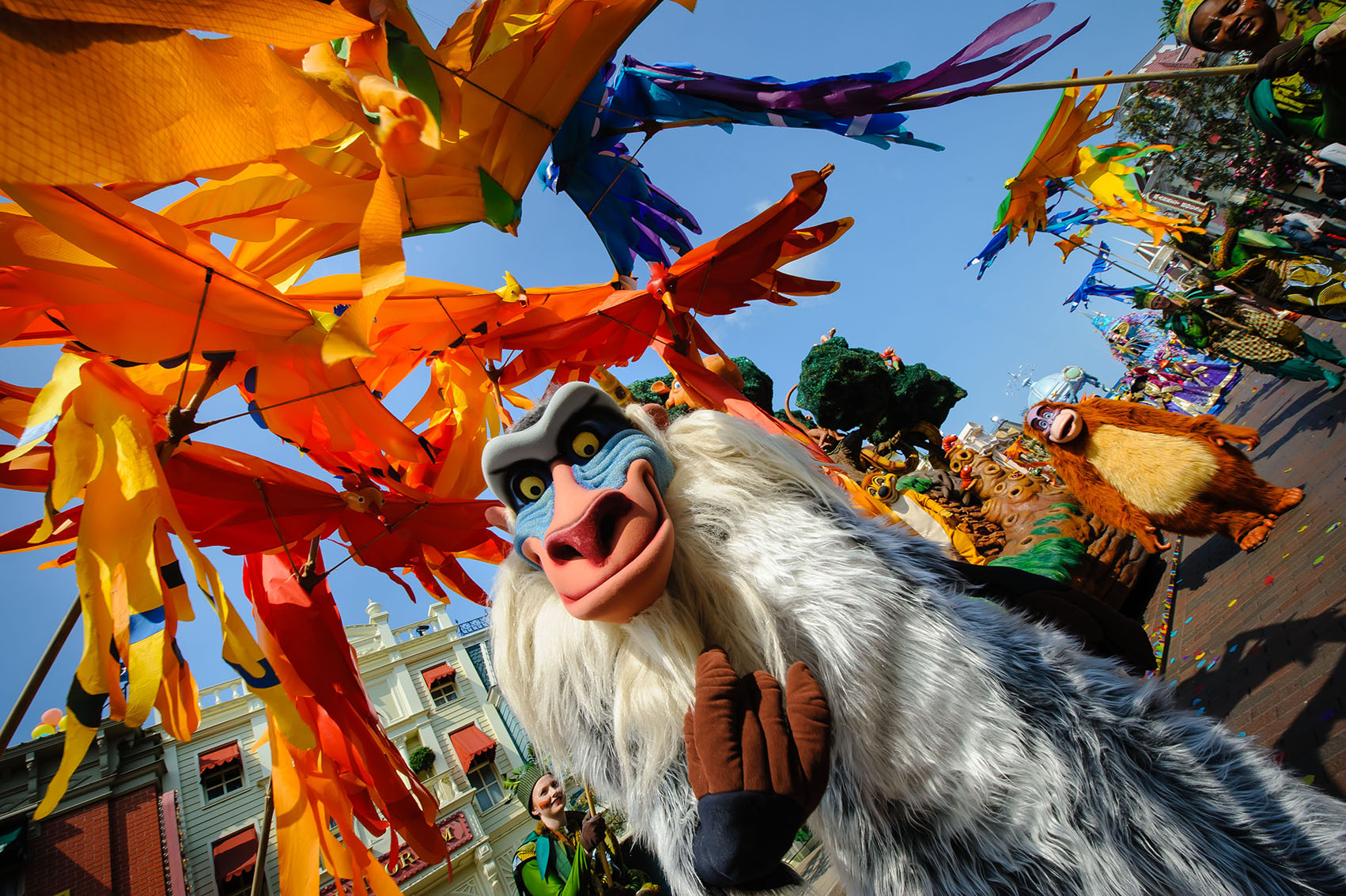 Festival of the Lion King at Disneyland Paris