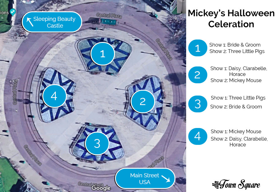 Mickey's Halloween Celebration Showstop guide