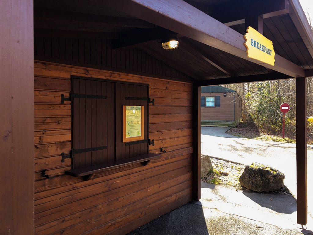 Breakfast hut at Disney's Davy Crockett Ranch - Disneyland Paris