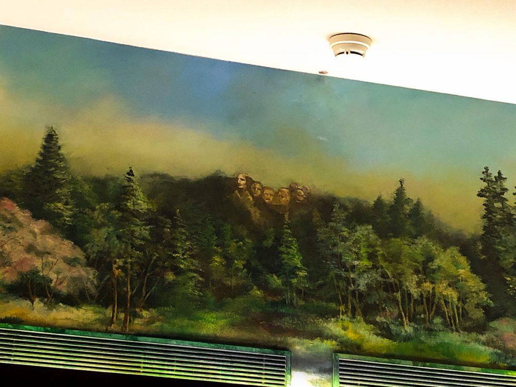 Hidden Mickey at Disney's Sequoia Lodge