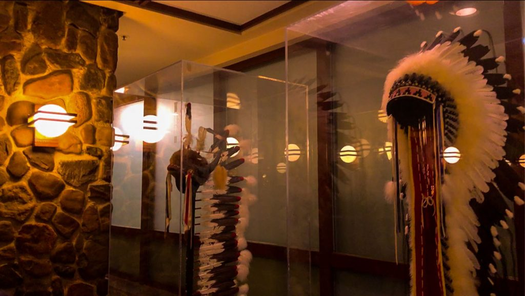 Native American Ceremonial Head Dress - Disney's Sequoia Lodge