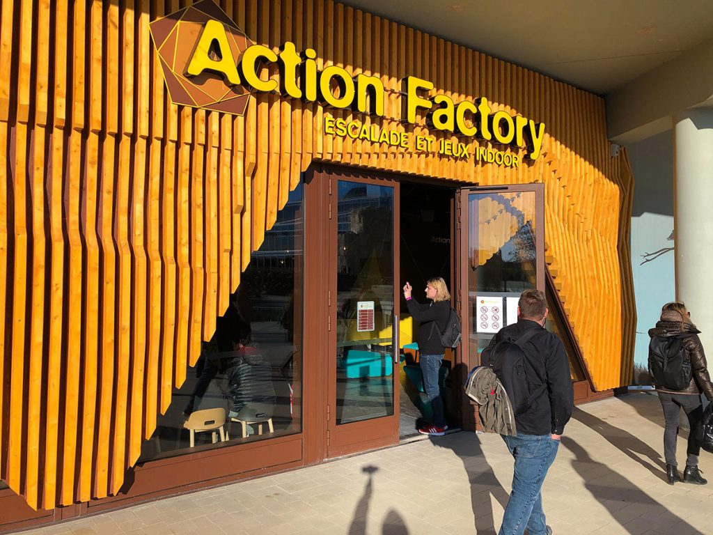 Action Station indoor games centre at Villages Nature Paris