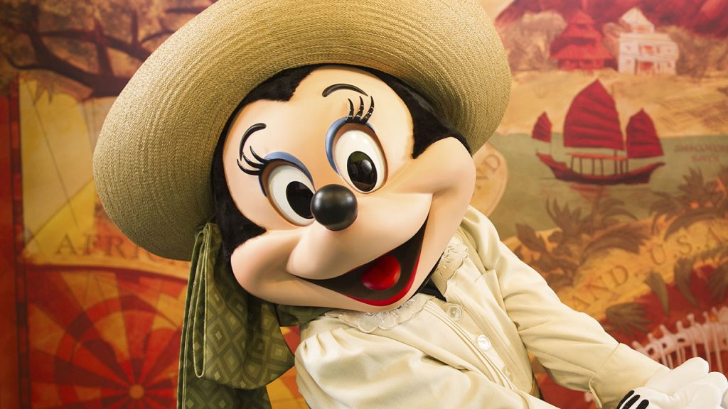 Adventurer Minnie as part of the Lion King Signature Package