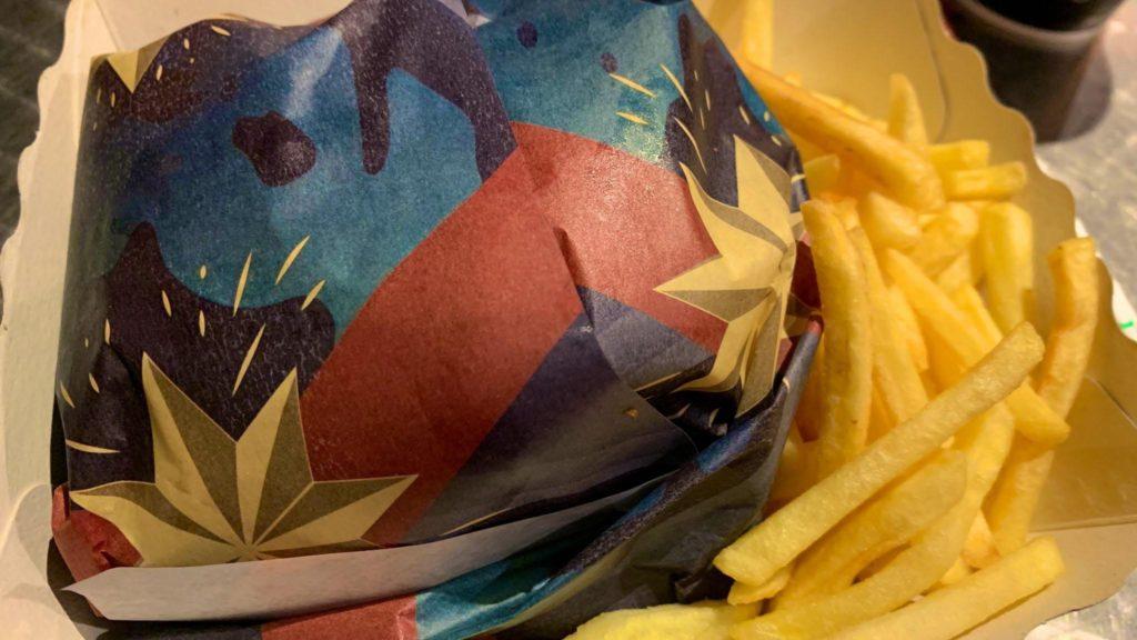 Captain Marvel Burger at En Coulisse