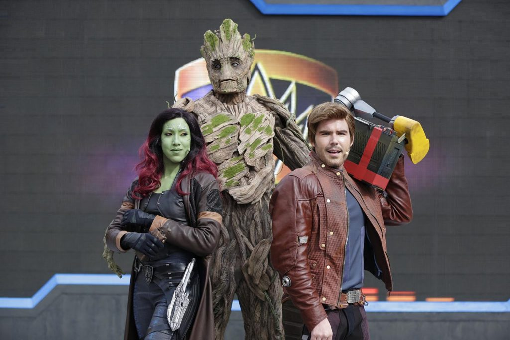 Guardians of the Galaxy Awesome Dance Off - with Groot, Star Lord and Gamora