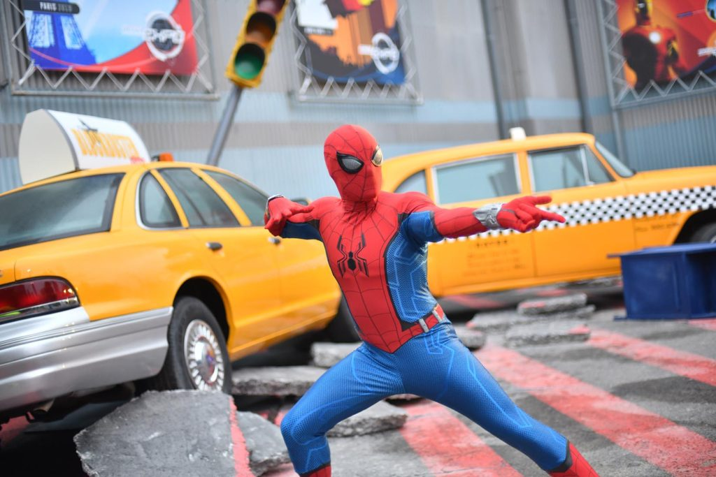 Spider-Man Meet and Greet in the Walk Disney Studios Park
