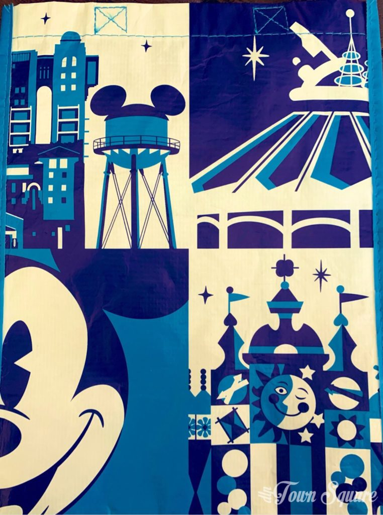 Disneyland Paris reusable bag 2019 - Back