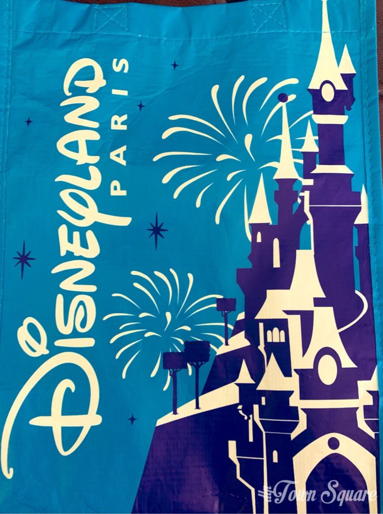 Disneyland Paris reusable bag 2019 - Front