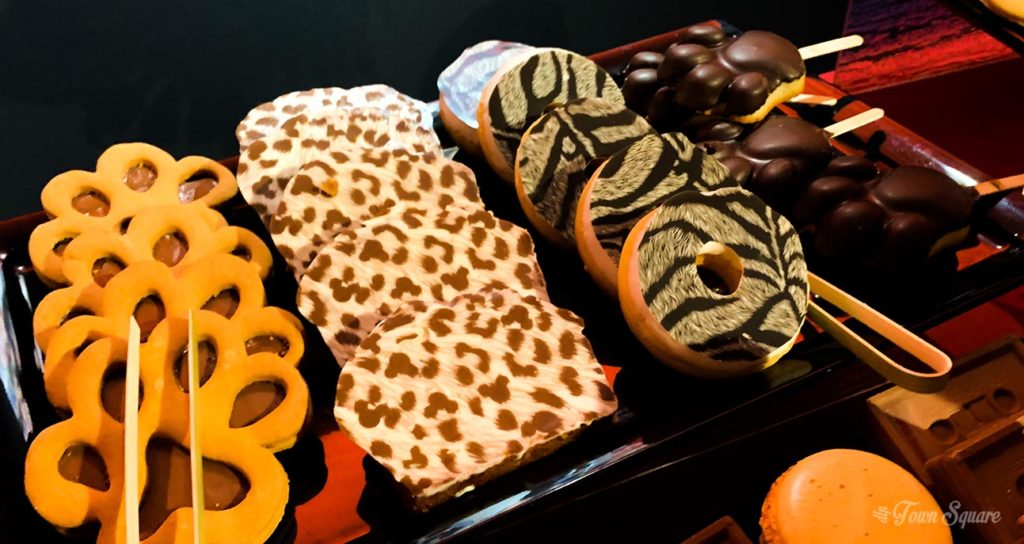 Some snacks from the Festival of the Lion King and the Jungle at Disneyland Paris