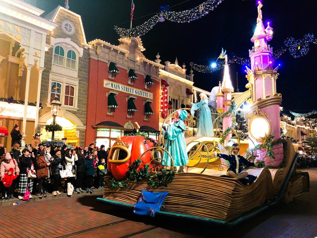 The Incredible New Year's Eve Parade with Tinkerbell