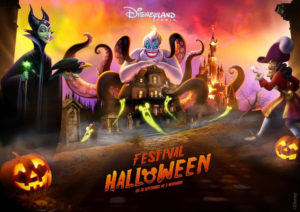 Halloween 2019 visual at Disneyland Paris