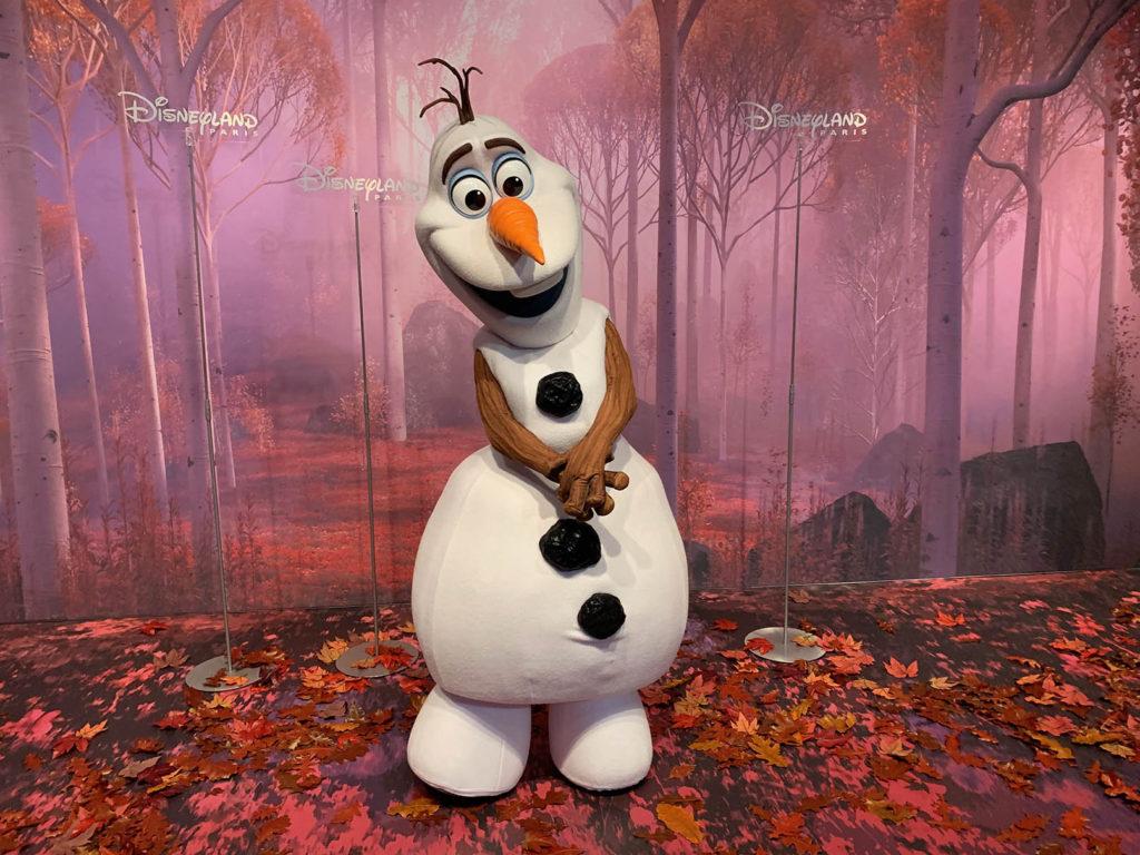 Olaf Meet and Greet at Animation Celebration at Disneyland Paris