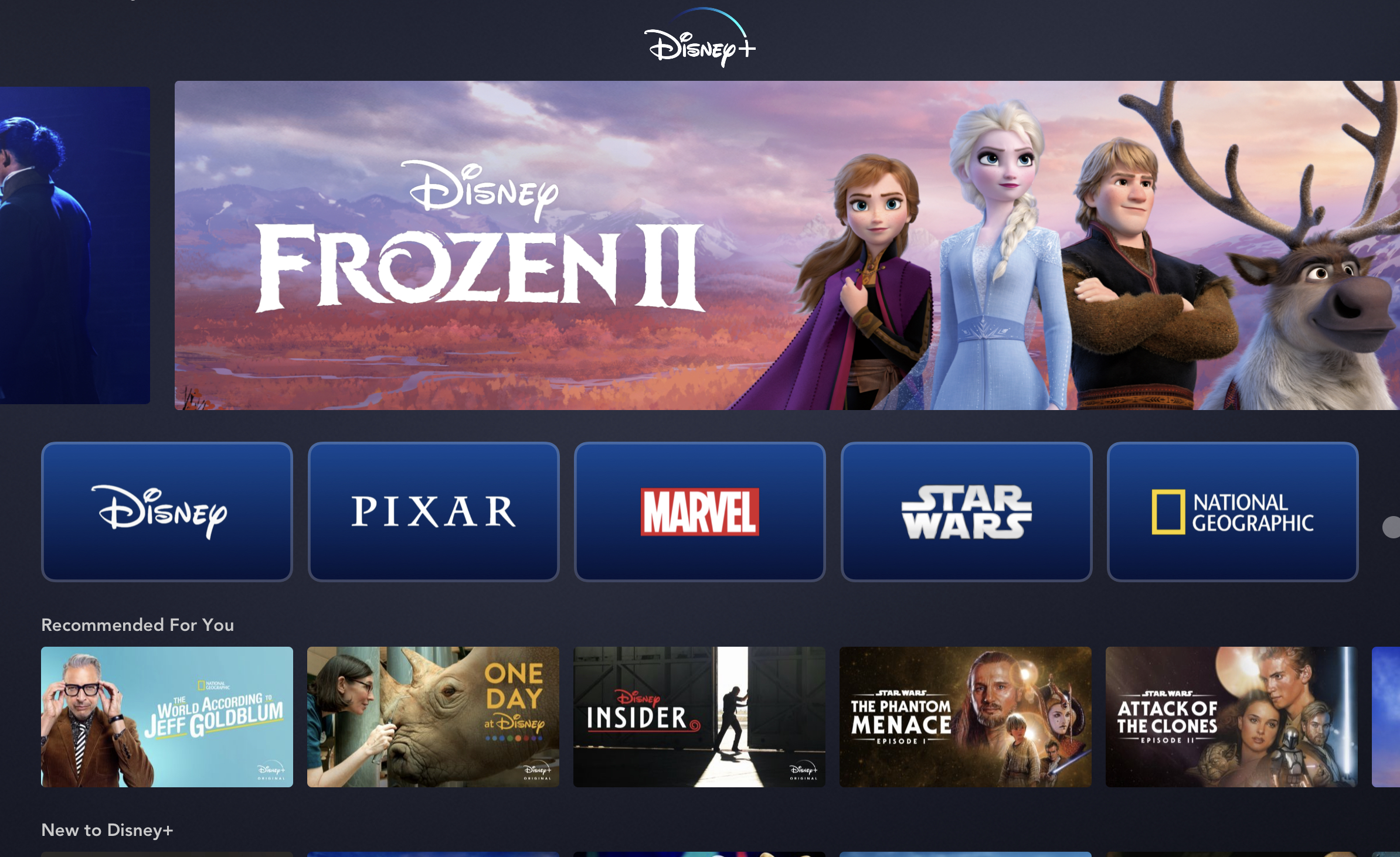 Disney+ successfully in Europe and has seen major releases such as Hamilton during Q3 2020