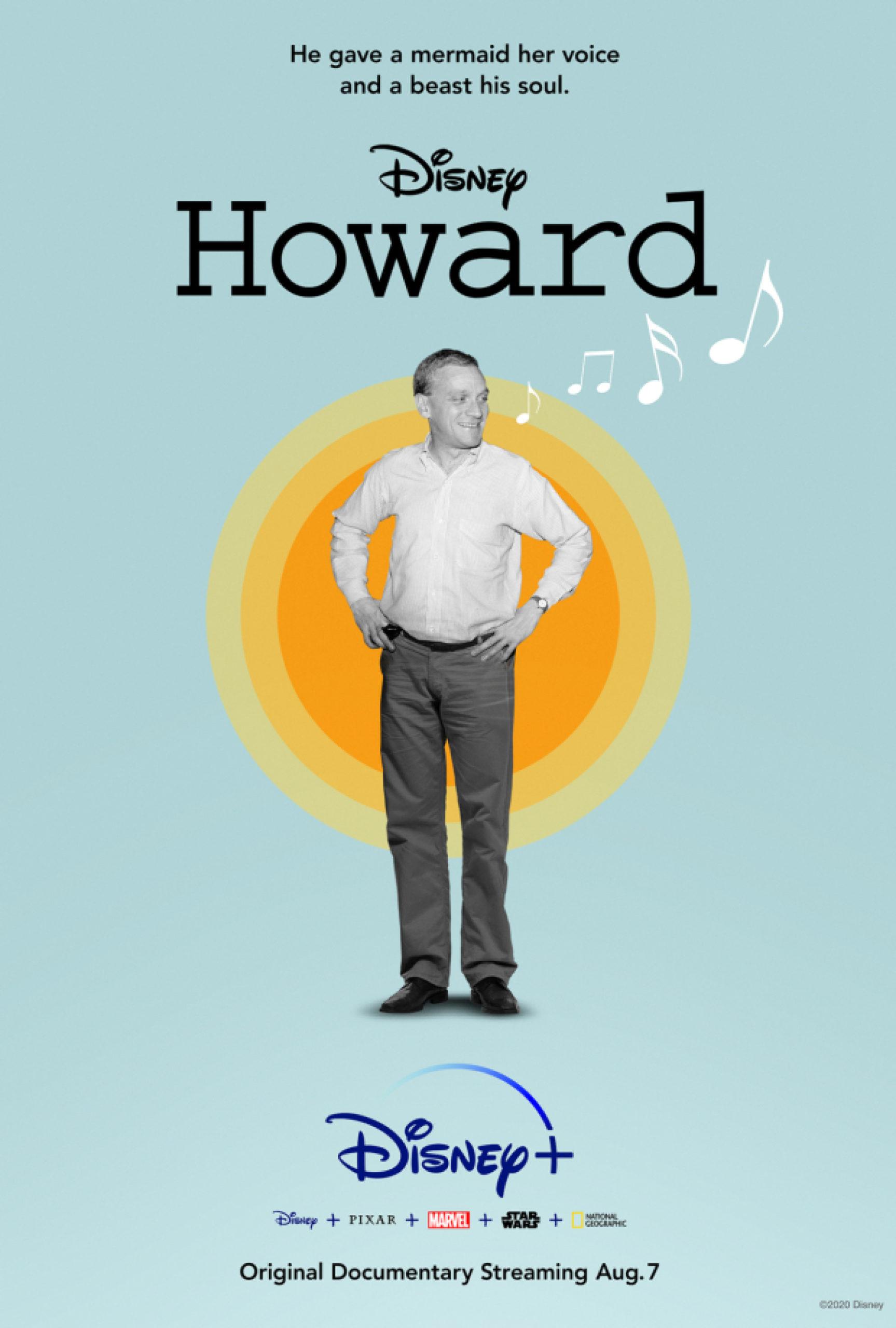 Howard documentary poster, Disney+