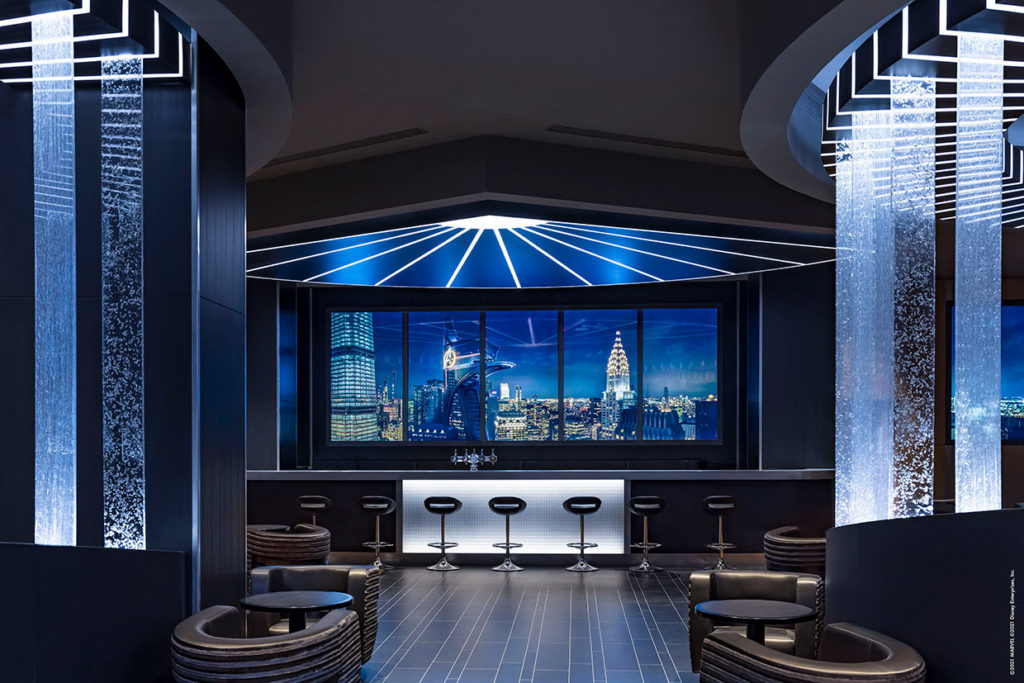 Skyline Bar  Disney's Hotel New York: The art of Marvel